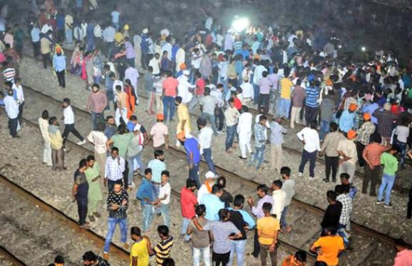 Amritsar train accident – 60 killed, many injured