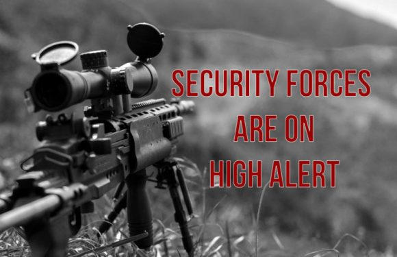 Kashmir - security forces are on high alert against possible sniper attacks by terrorists