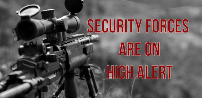 Kashmir – security forces are on high alert against possible sniper attacks by terrorists