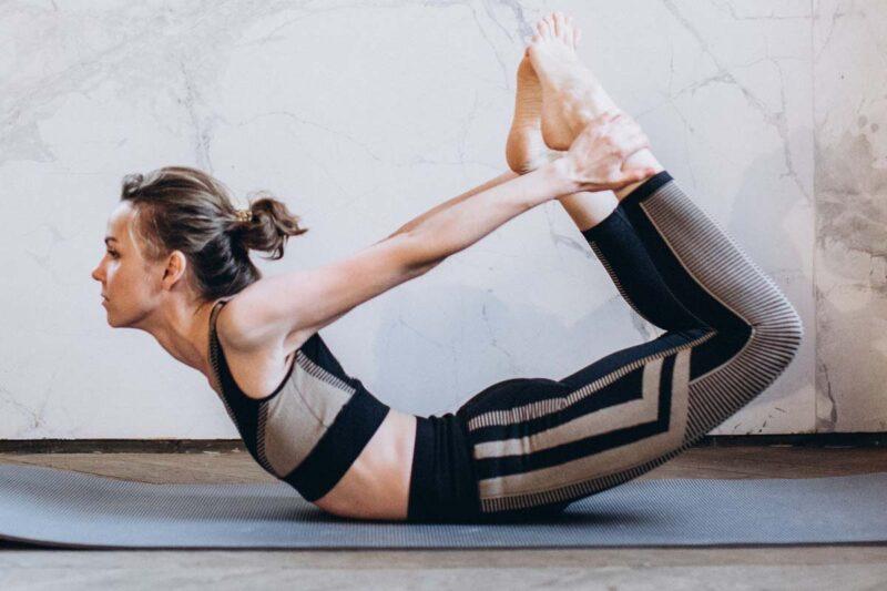 Special Yoga Asanas & Daily Excercise, Dhanurasana
