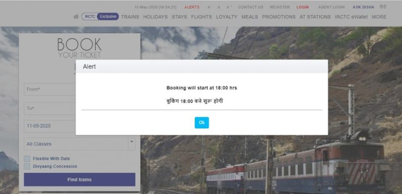 IRCTC Website Got Hanged Twice, Passengers Facing Double Trouble