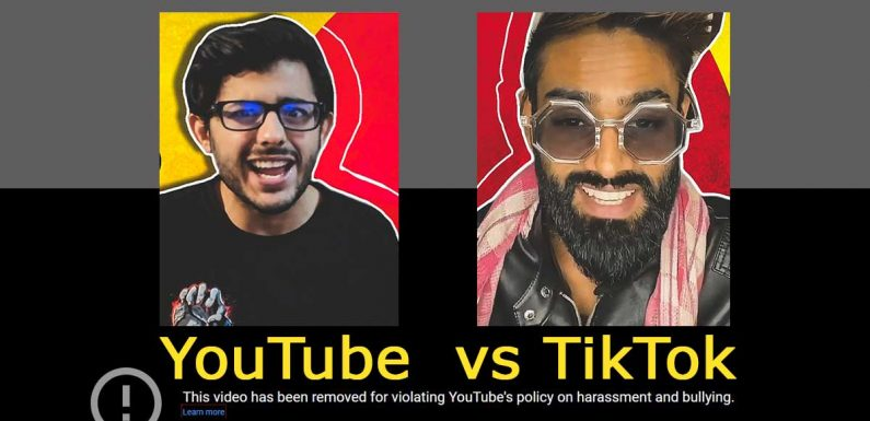 YouTube Vs TikTok: Know About The Cyber Fight Between Carry Minati and Aamir Siddiqui