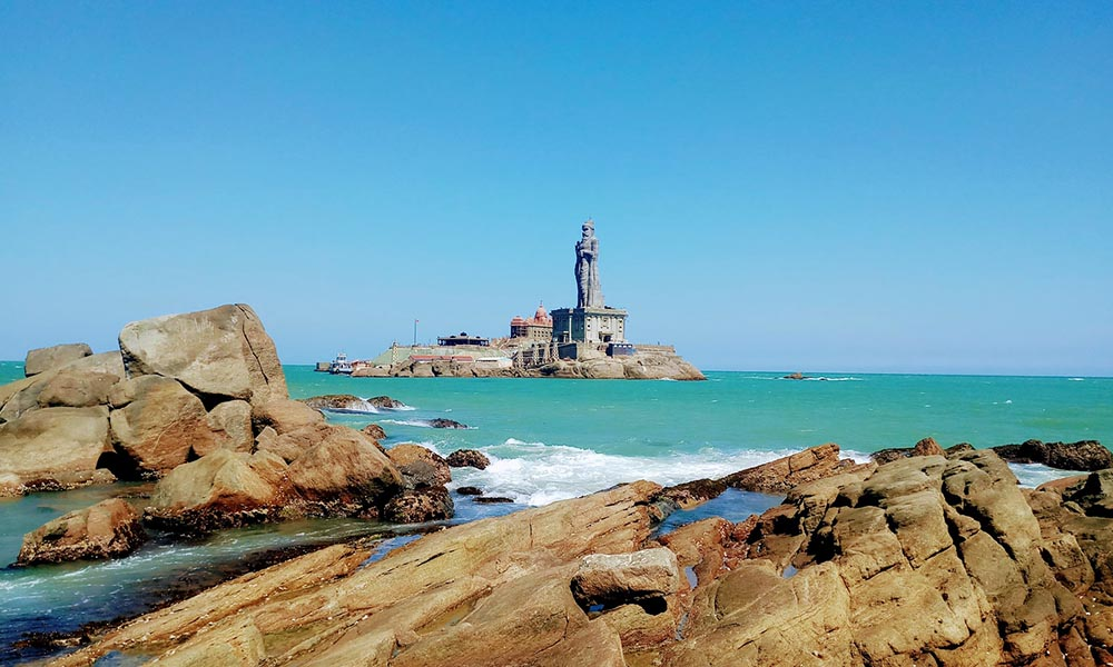 Vivekananda Rock Kanyakumari in Tamil Nadu