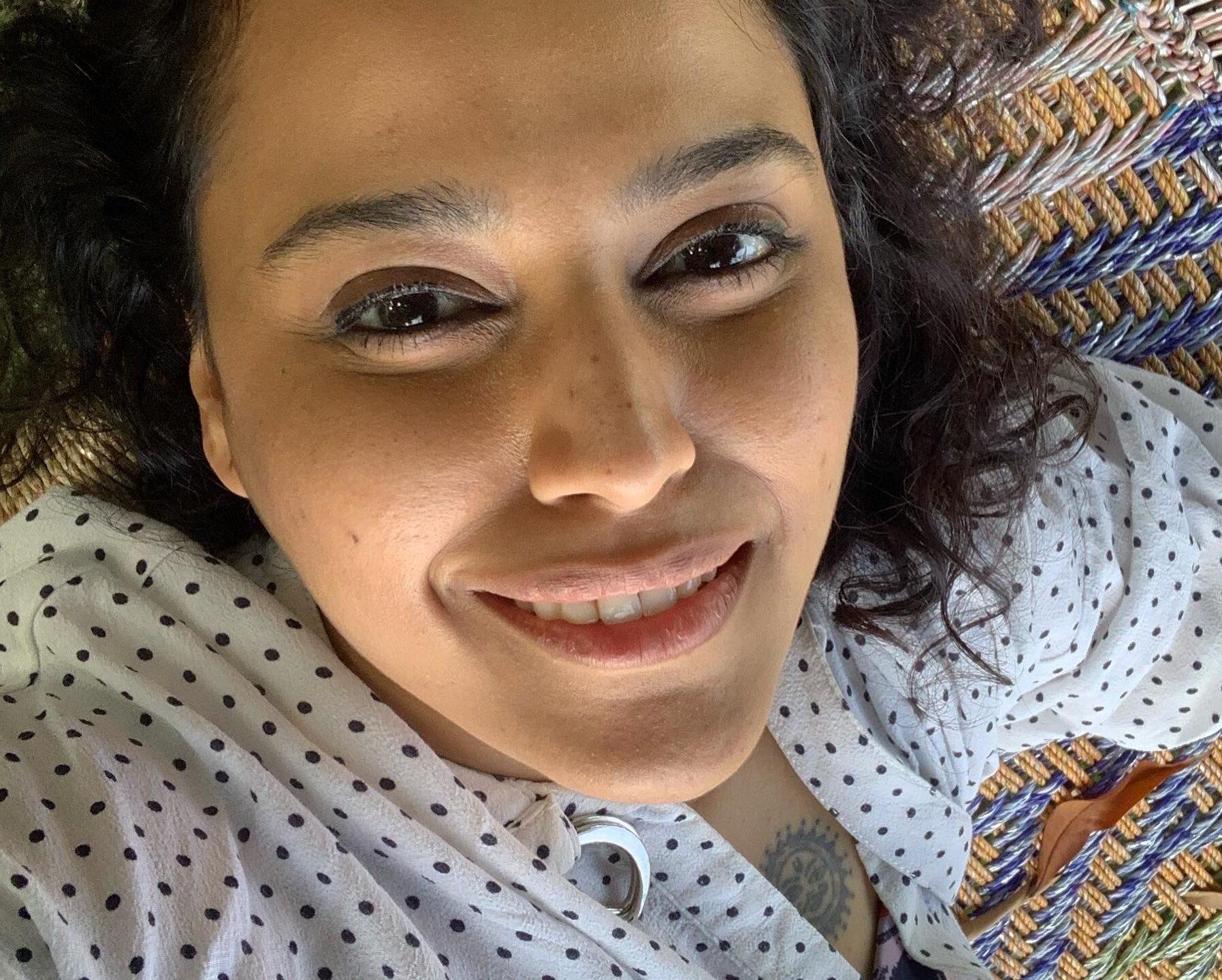 Swara Bhasker latest photo showing her tattoo on chest