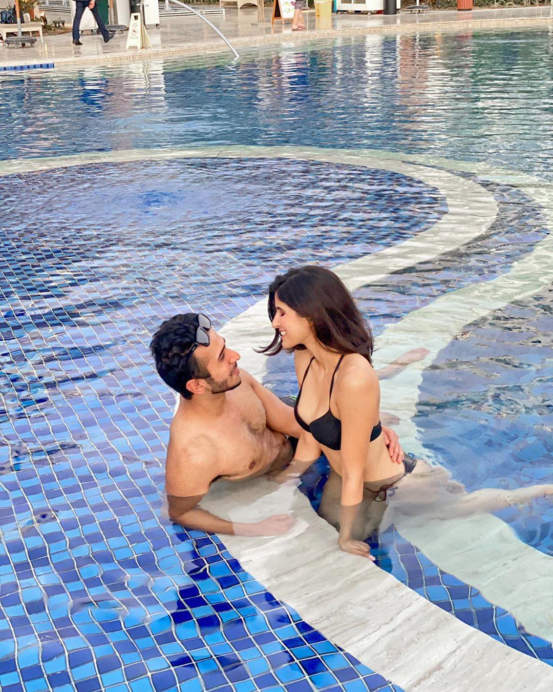 Sakshi Malik with her boyfriend Santul Katahra