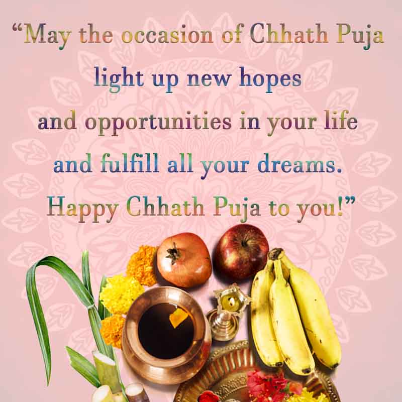 Chhath puja wishes image