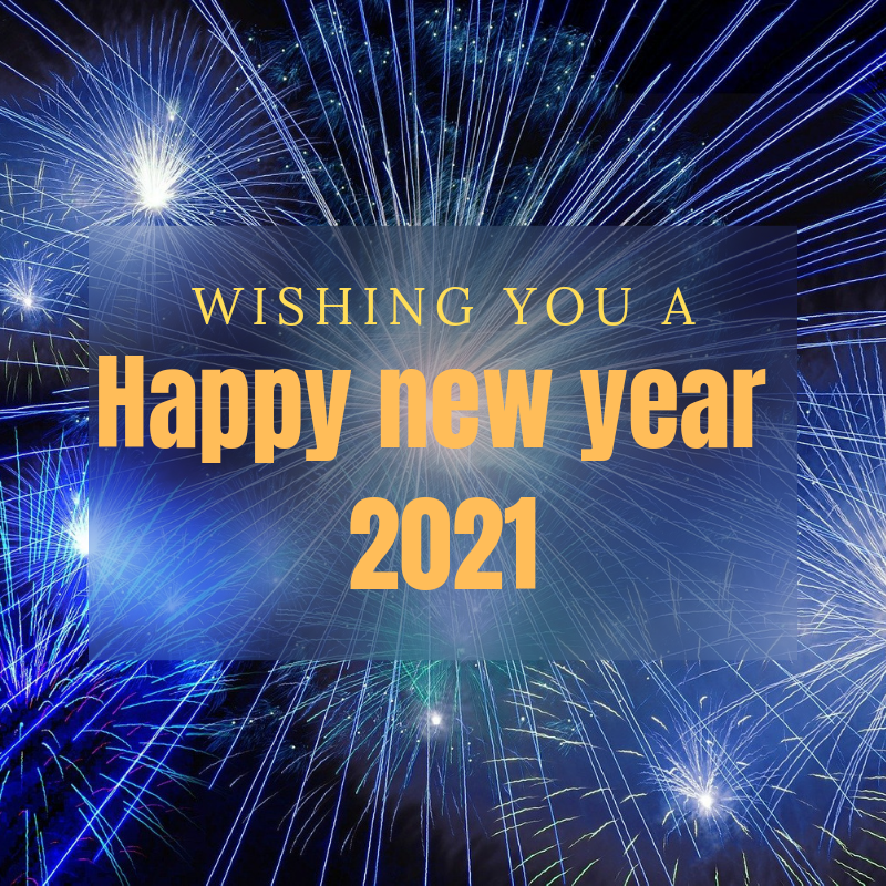 Happy new year 2021 wishes, pictures, text and photos.