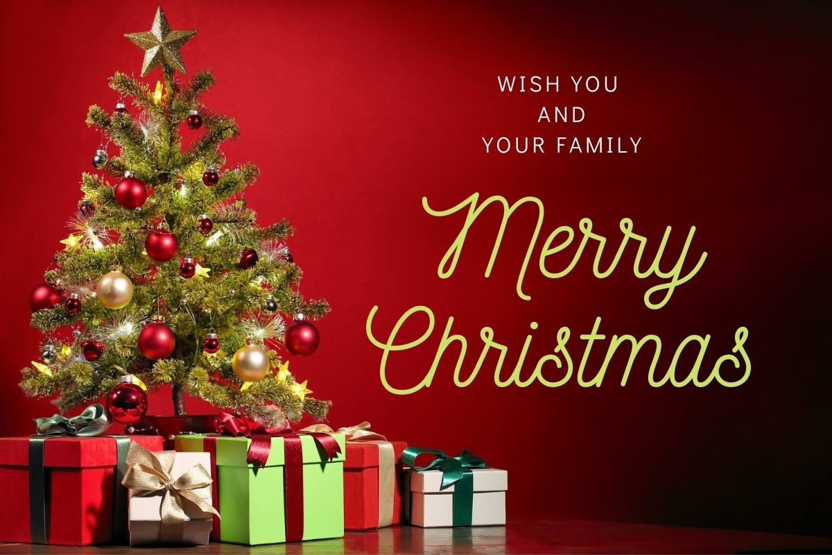 Merry Christmas best wishes image