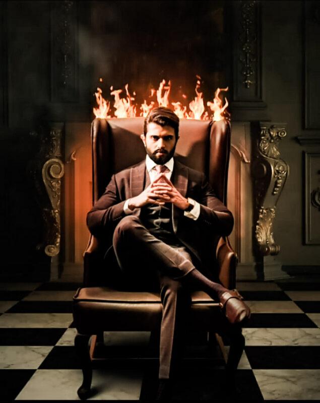 Vijay devendrakonda hot photo in black suit