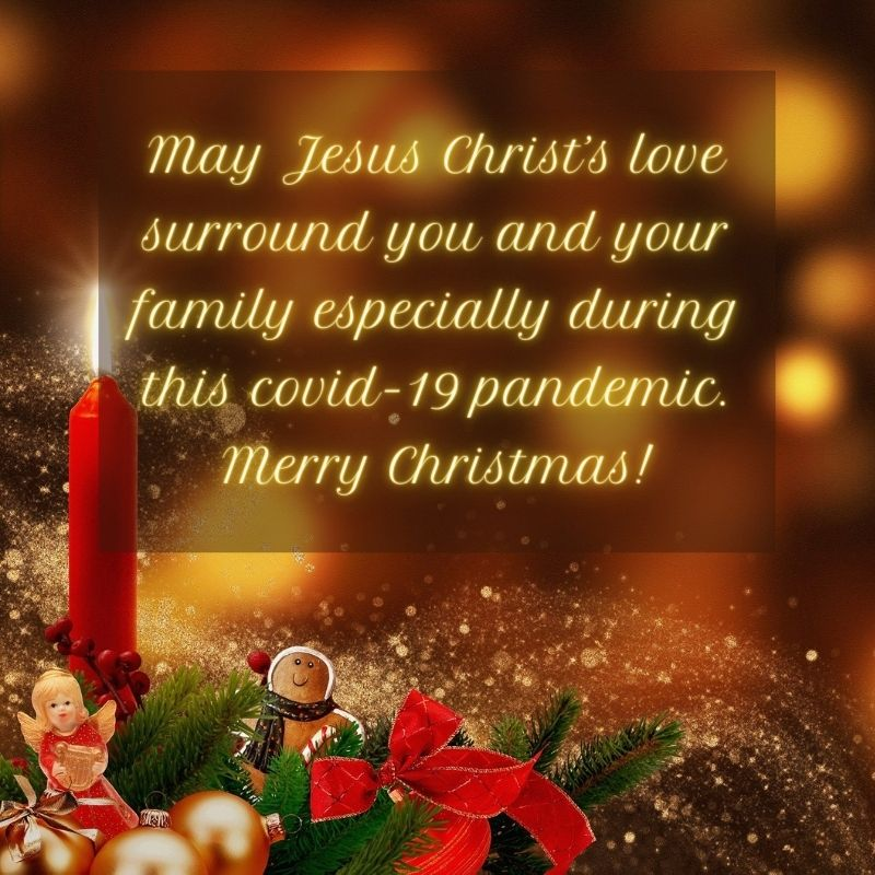 Merry Christmas wishes message during covid 19 pandemic