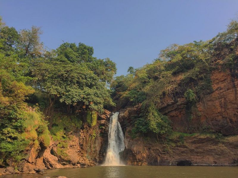harvelam waterfalls in goa which is the oldest natural spot of the state