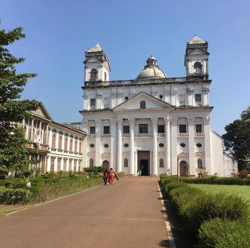 goa tourism is famous for its churches and rare architecture resembles with the european culture.