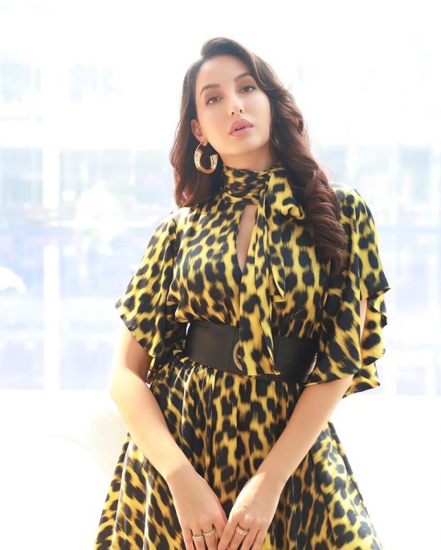 Nora Fatehi posted a sexy picture on valentine day