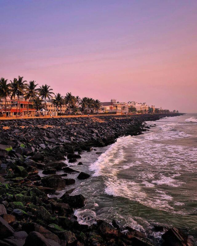 best beaches to travel in Pondicherry