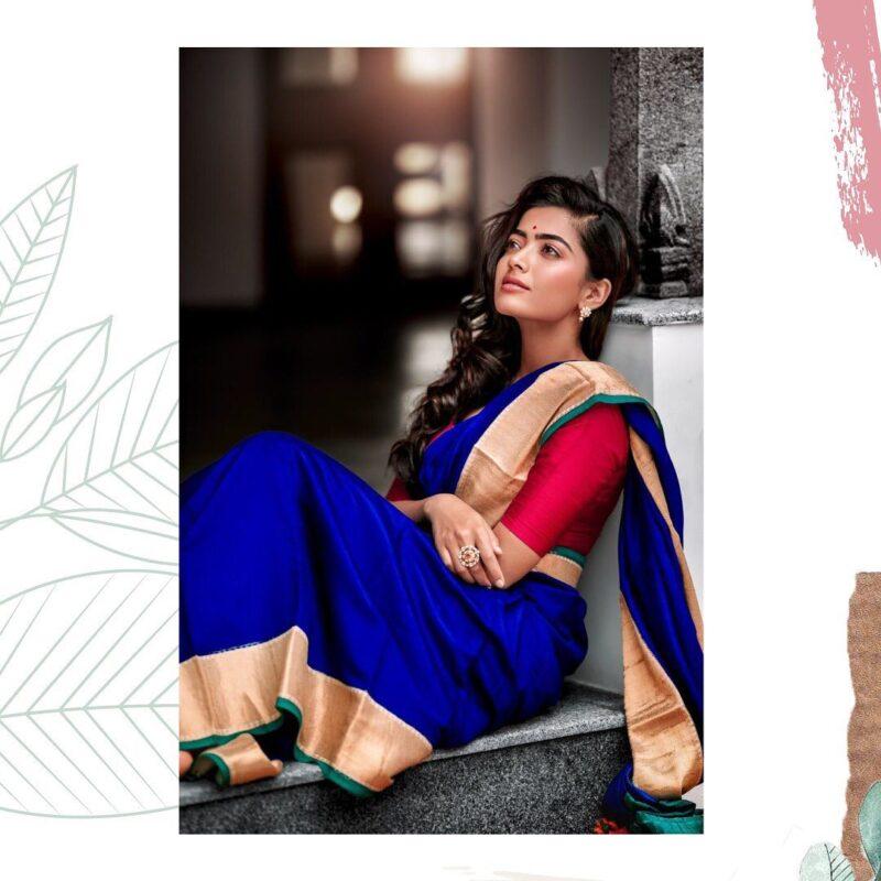 Gorgeous south indian actress Rashmika photo