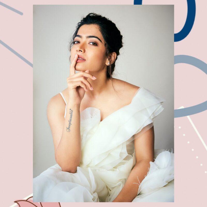 top most beautiful south indian actress Rashmika mandanna pictures