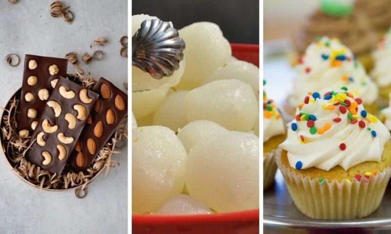 Dessert Platters for Diwali gift