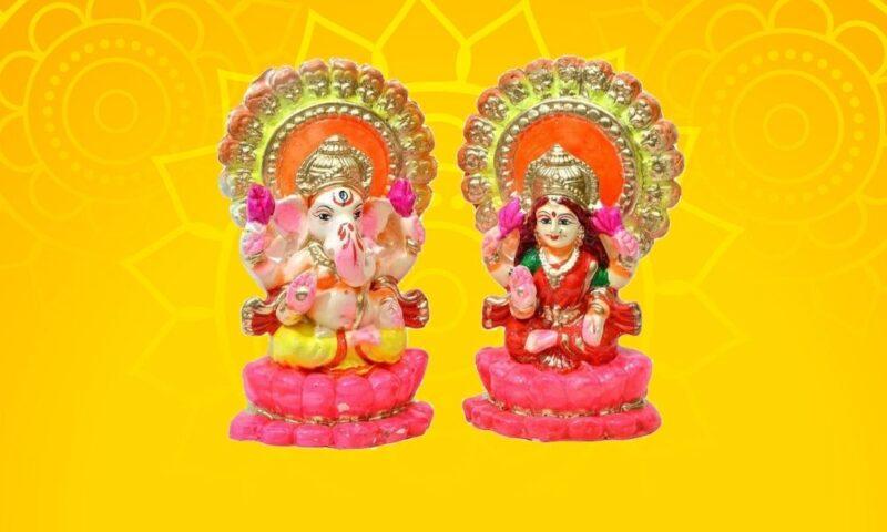 Best Diwali Gift Lakshmi Ganesha Idol