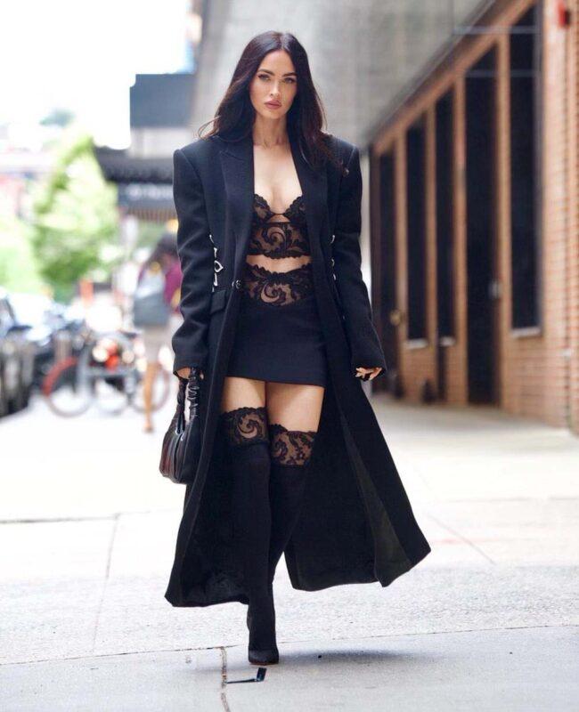 Most famous Hollywood actress Megan Fox